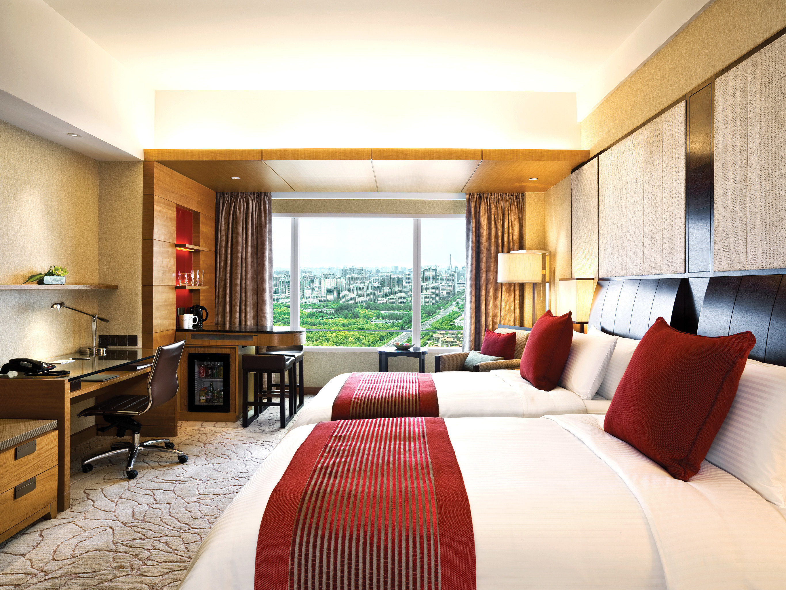 Bedroom Modern Scenic views Suite sofa property condominium Resort cottage living room Villa flat