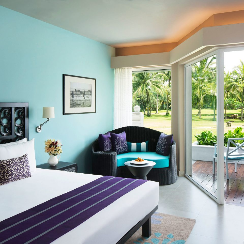 Bedroom Modern Resort Scenic views property home white living room condominium Villa cottage