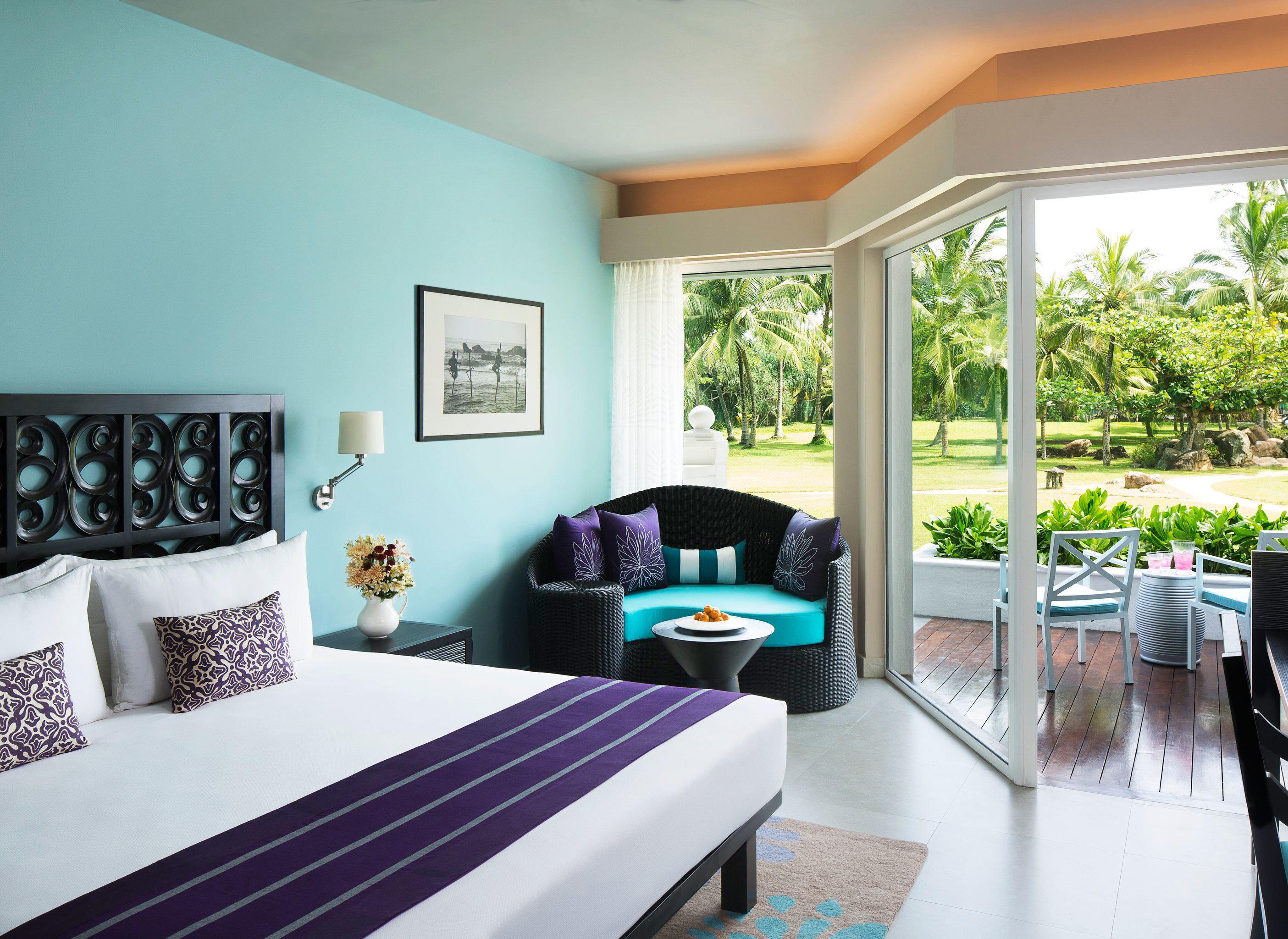 Bedroom Modern Resort Scenic views property home white living room condominium Villa cottage