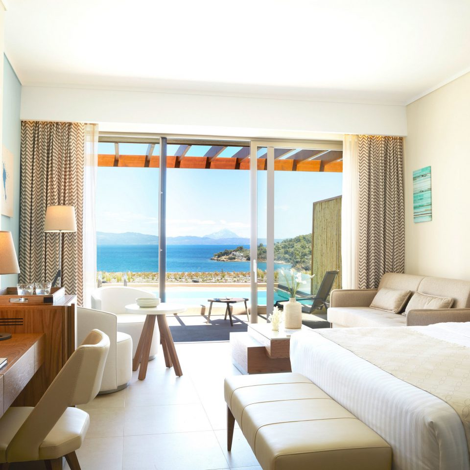 sofa property condominium Suite Resort Villa living room Bedroom cottage flat Modern