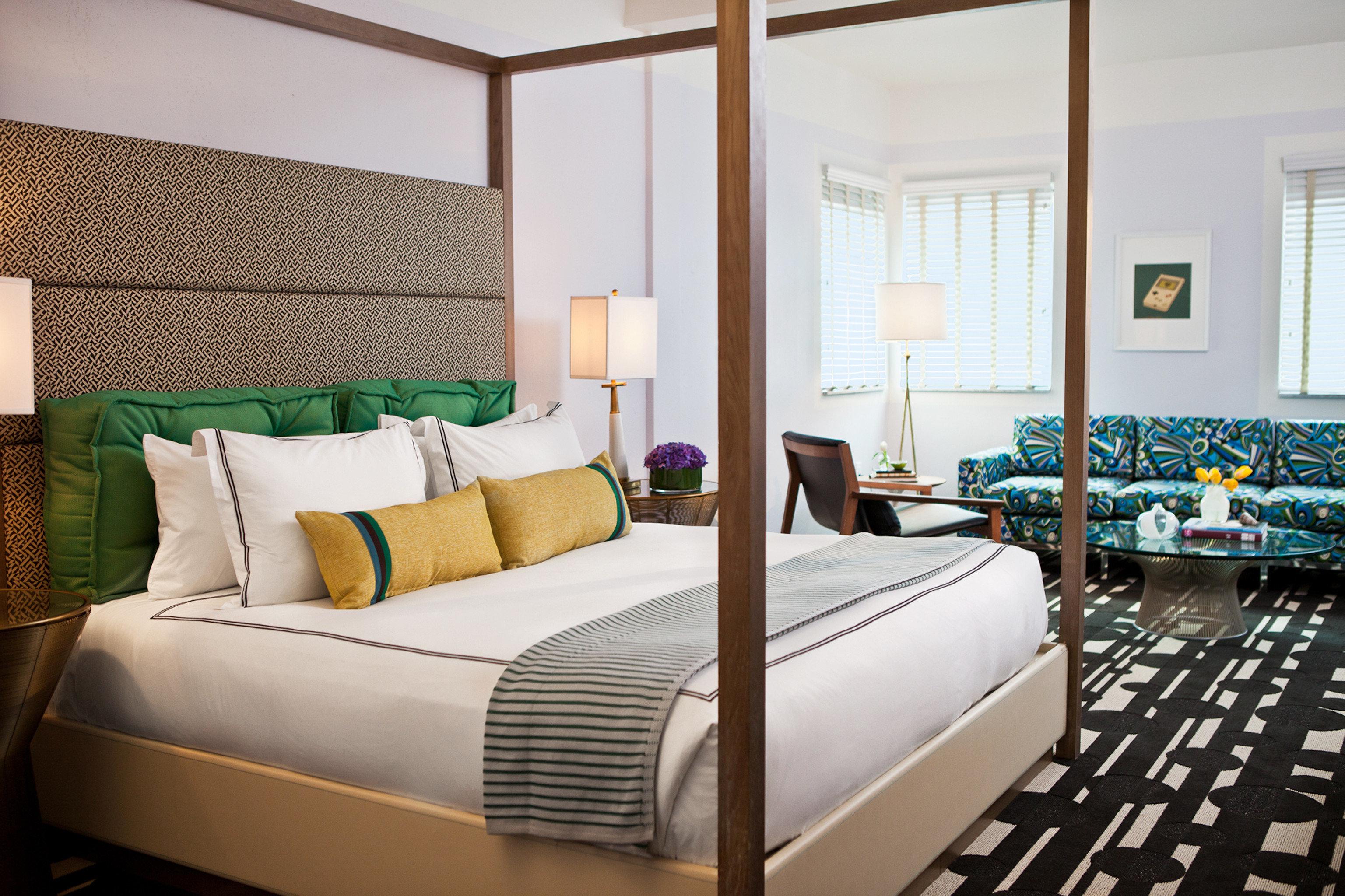 Bedroom Modern Resort sofa property Suite living room bed sheet bed frame cottage lamp