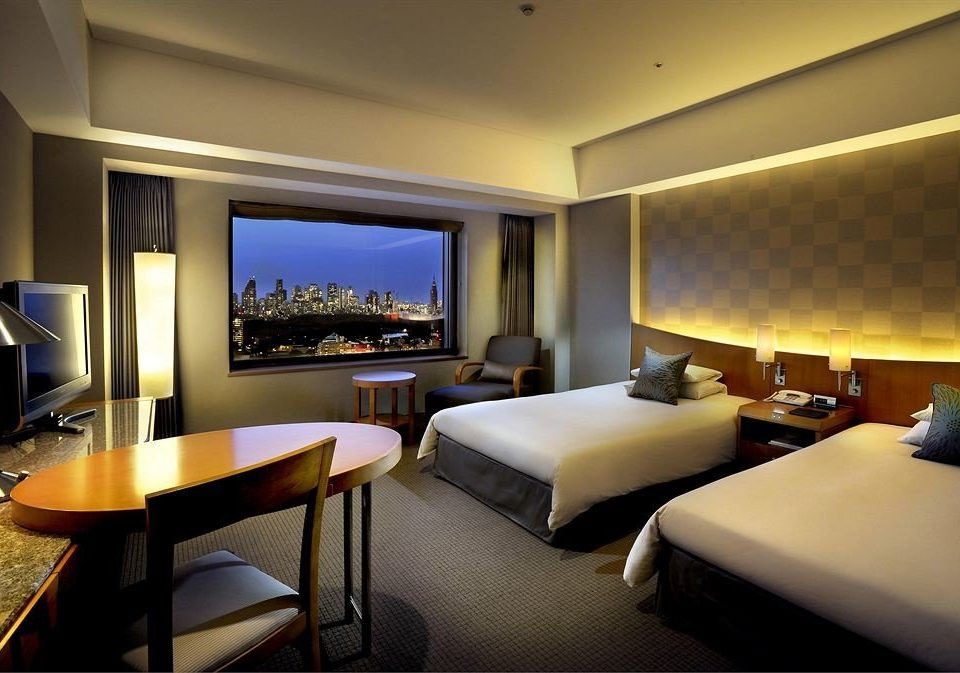 Bedroom desk property Suite condominium living room Resort Villa lamp flat Modern