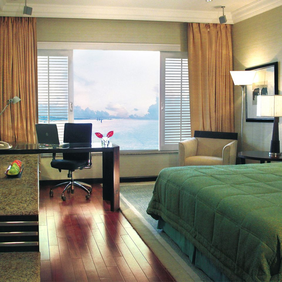 Bedroom Modern Romantic Scenic views property home Suite living room condominium green cottage