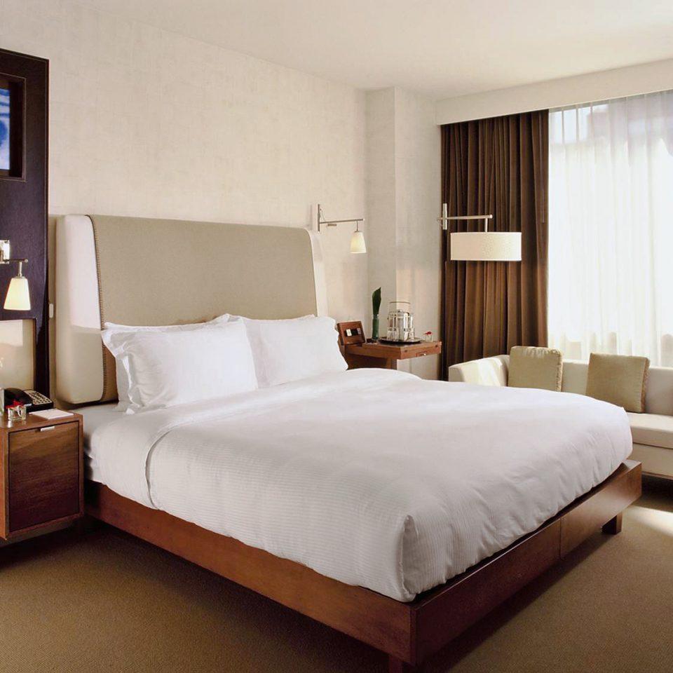 Bedroom Modern property Suite bed frame cottage bed sheet tan
