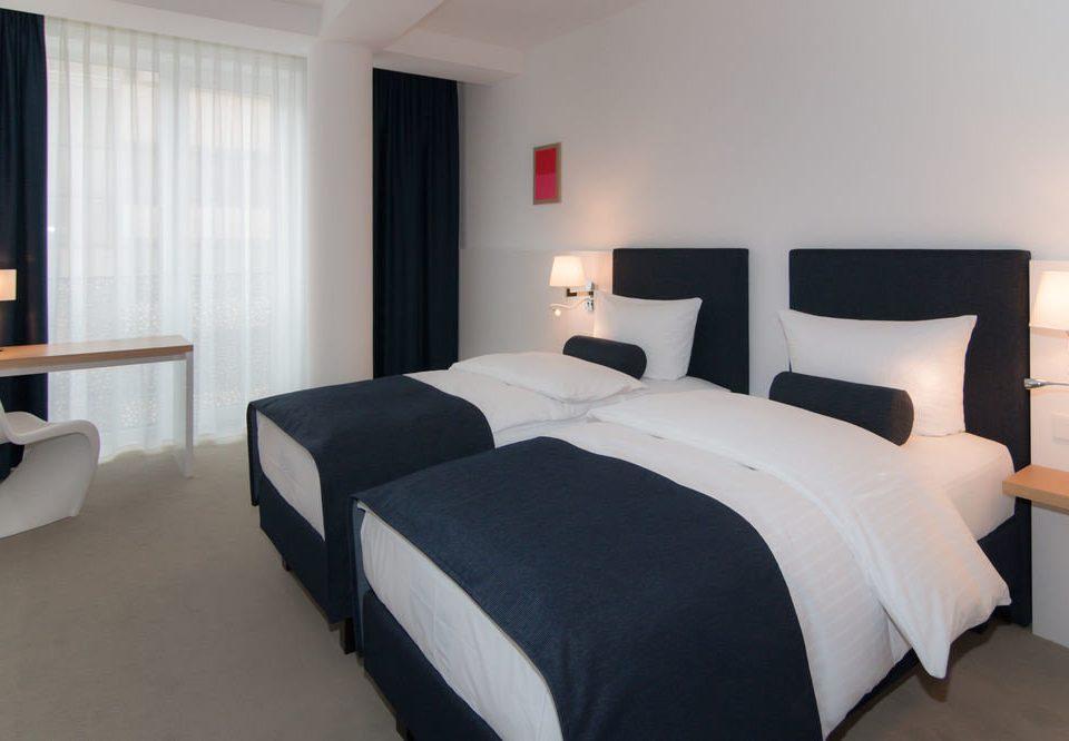 Bedroom property Suite cottage bed sheet pillow bed frame lamp Modern