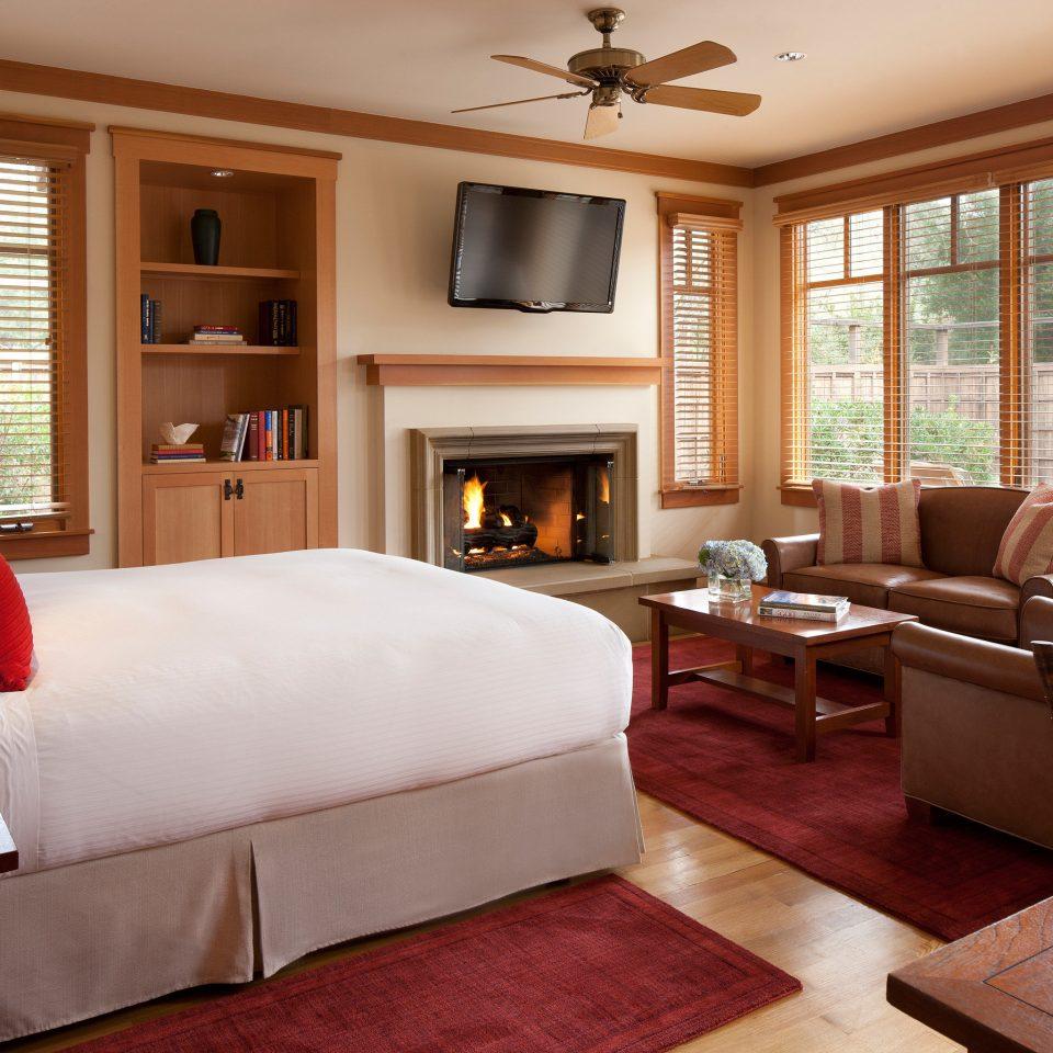 sofa property living room home Suite hardwood Bedroom red cottage bed sheet Modern flat