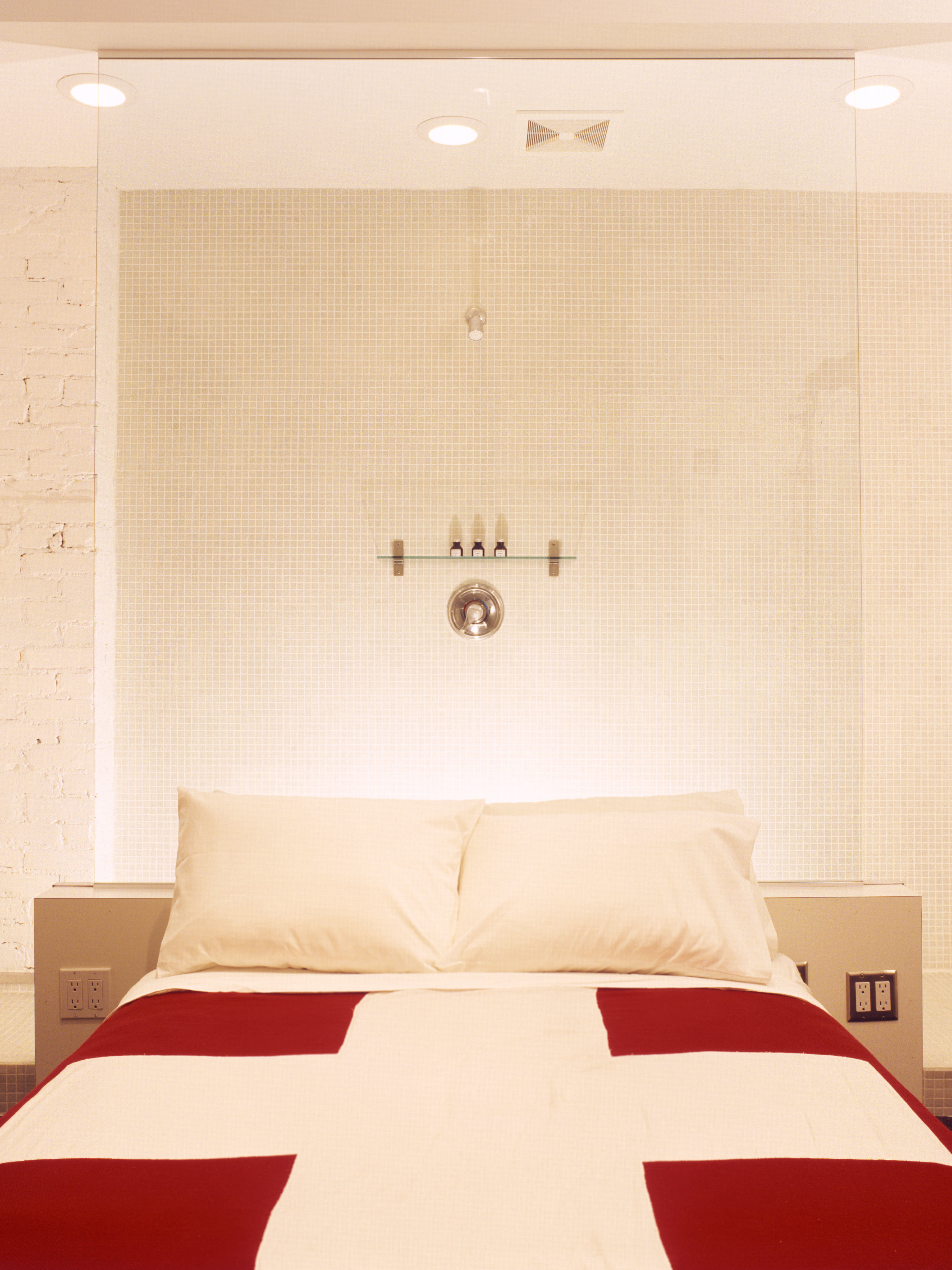 Bedroom Modern sofa pillow white red bed sheet flooring Suite textile bedclothes colored