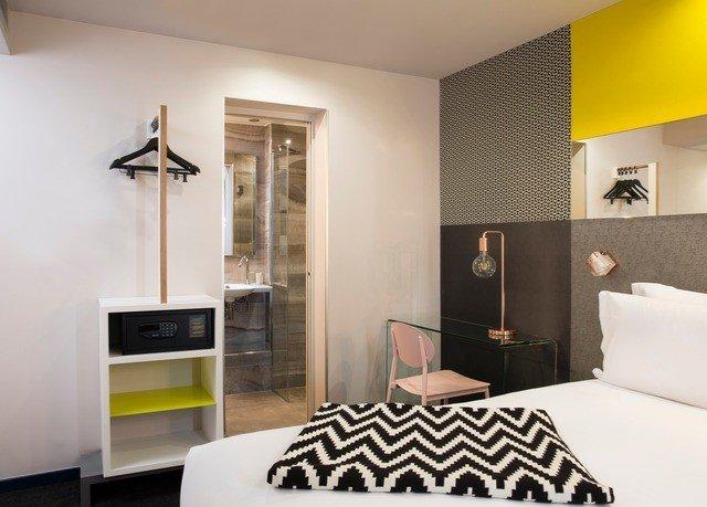 property Bedroom living room home Suite white condominium loft Modern