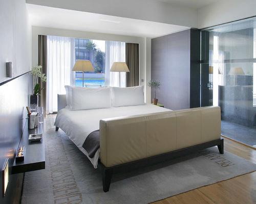 property living room condominium Suite home Modern Bedroom