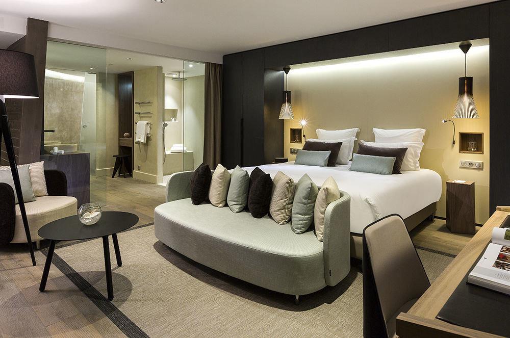 property living room Suite condominium Modern Bedroom flat