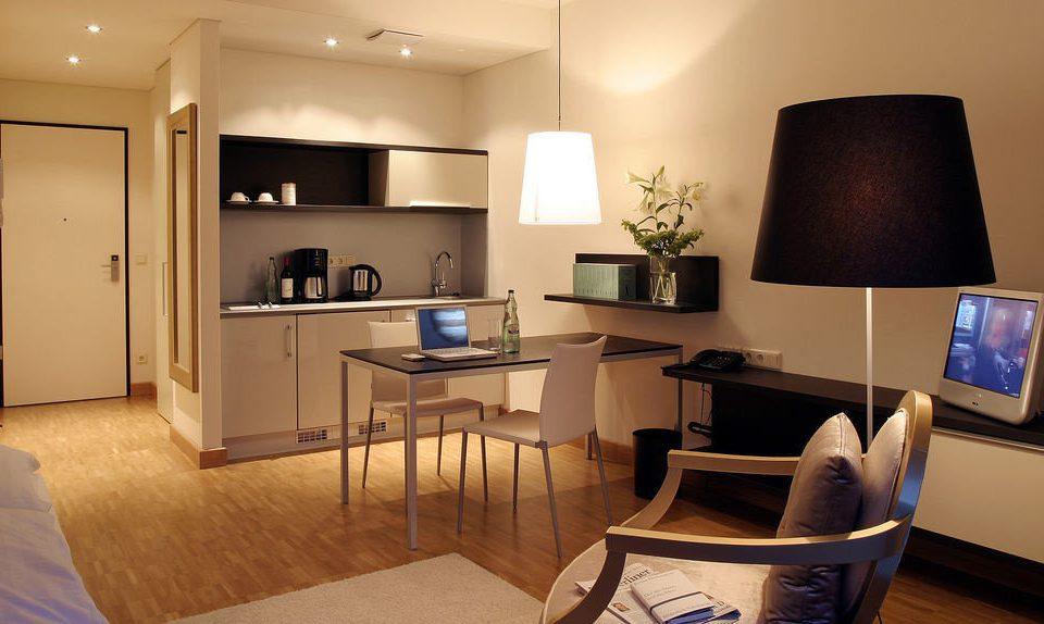 property living room home hardwood lighting cottage Suite condominium Bedroom Modern