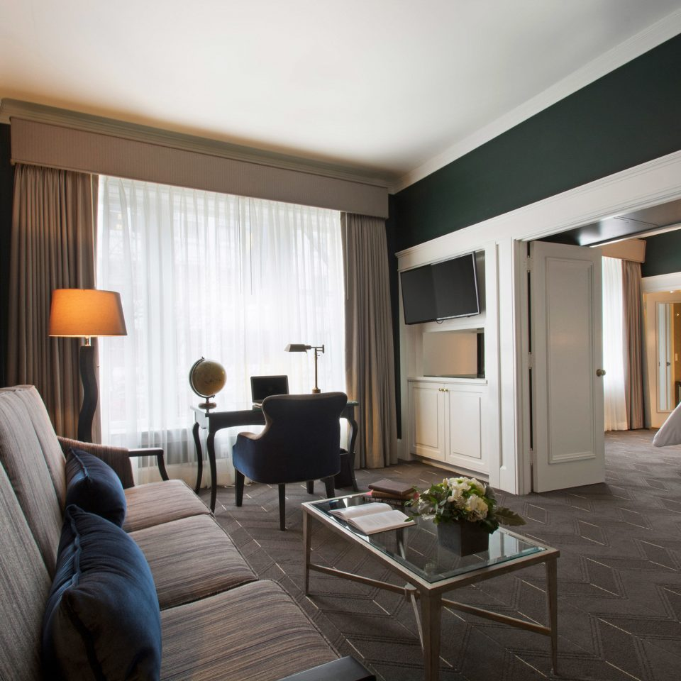 Bedroom Modern sofa property living room home Suite condominium hardwood