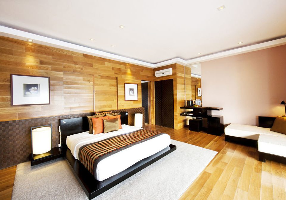 property Suite hardwood condominium living room Bedroom flat hard Modern
