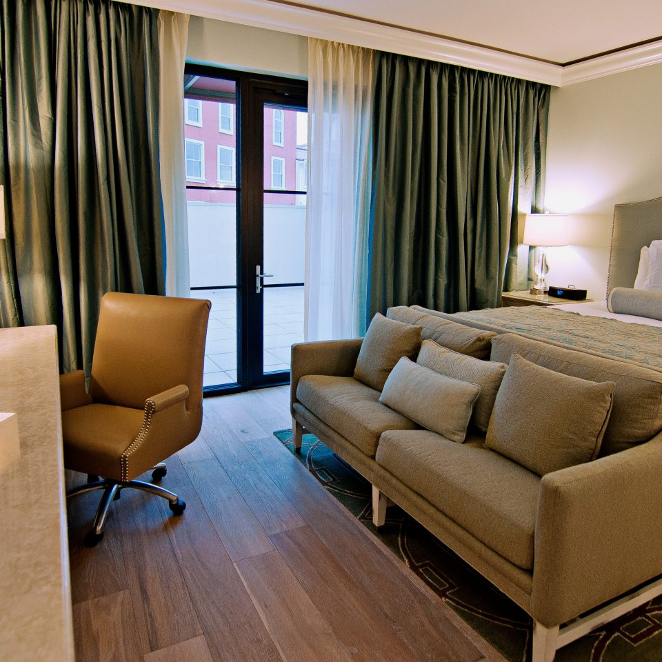 Bedroom Modern property Suite living room condominium home flat