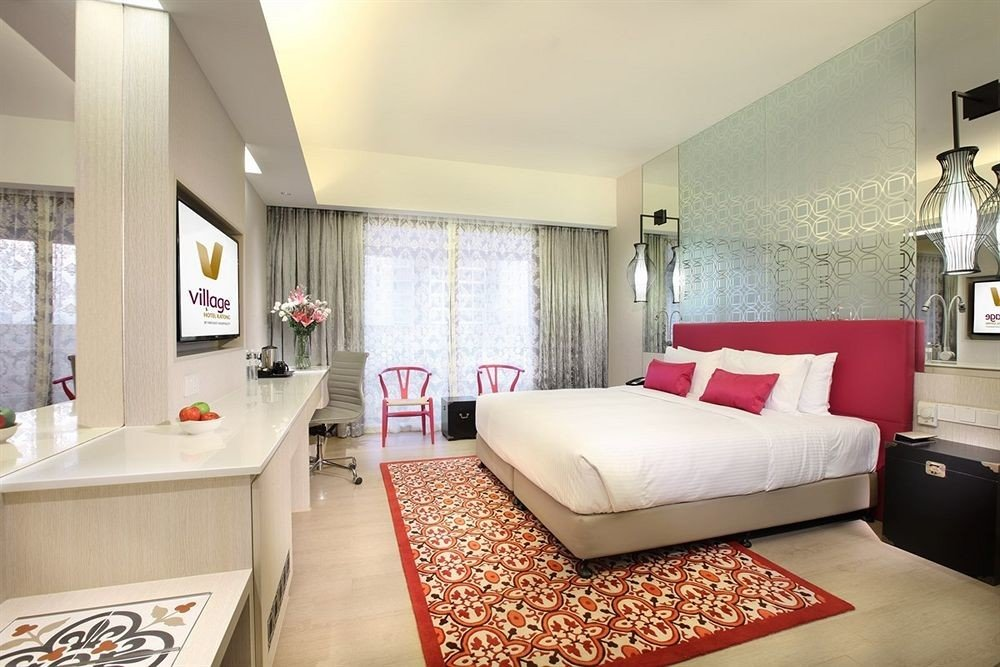 property red Bedroom Suite living room home condominium cottage Modern flat