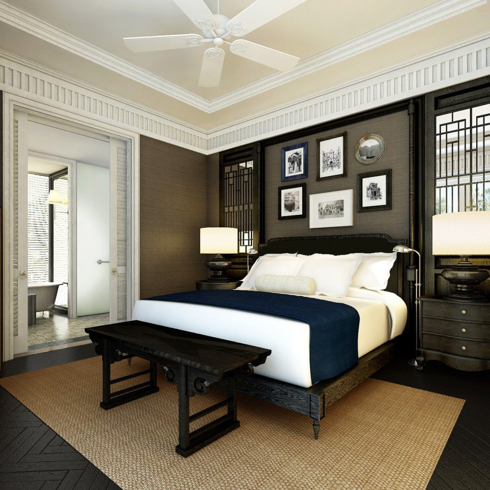 Bedroom Modern property living room home condominium hardwood Suite mansion