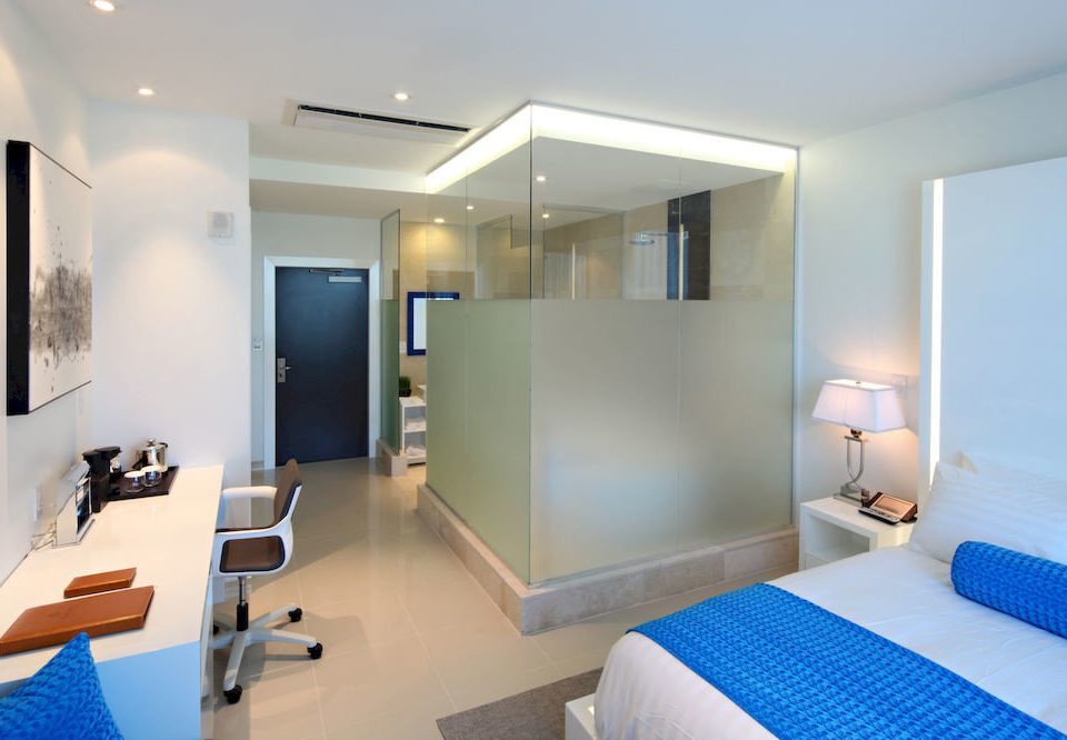 property scene condominium Suite Modern living room Bedroom