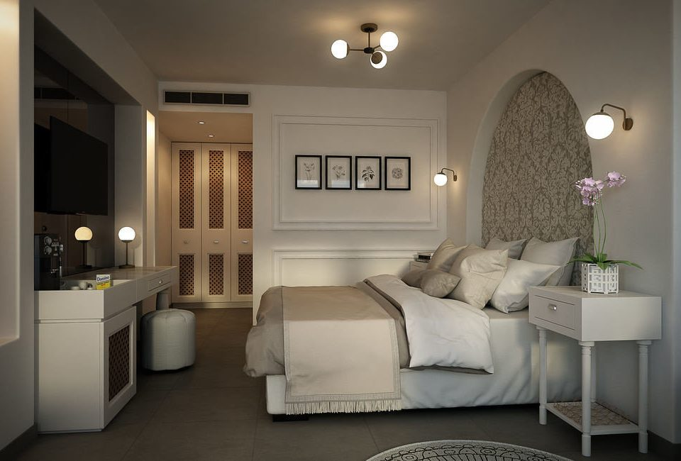 property living room white home Suite condominium Bedroom cottage Modern flat