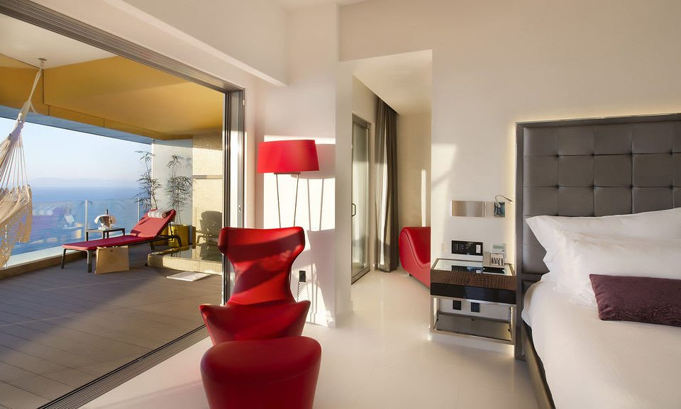 property red living room Bedroom Suite white home condominium Modern flat
