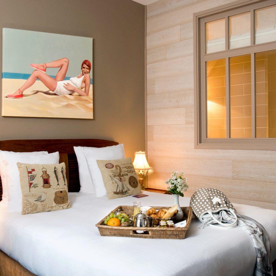 Bedroom Modern property living room home Suite cottage