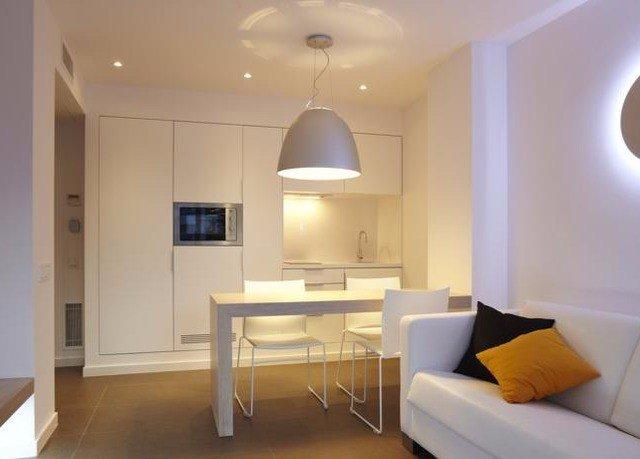 property home Suite cottage living room Bedroom Modern flat