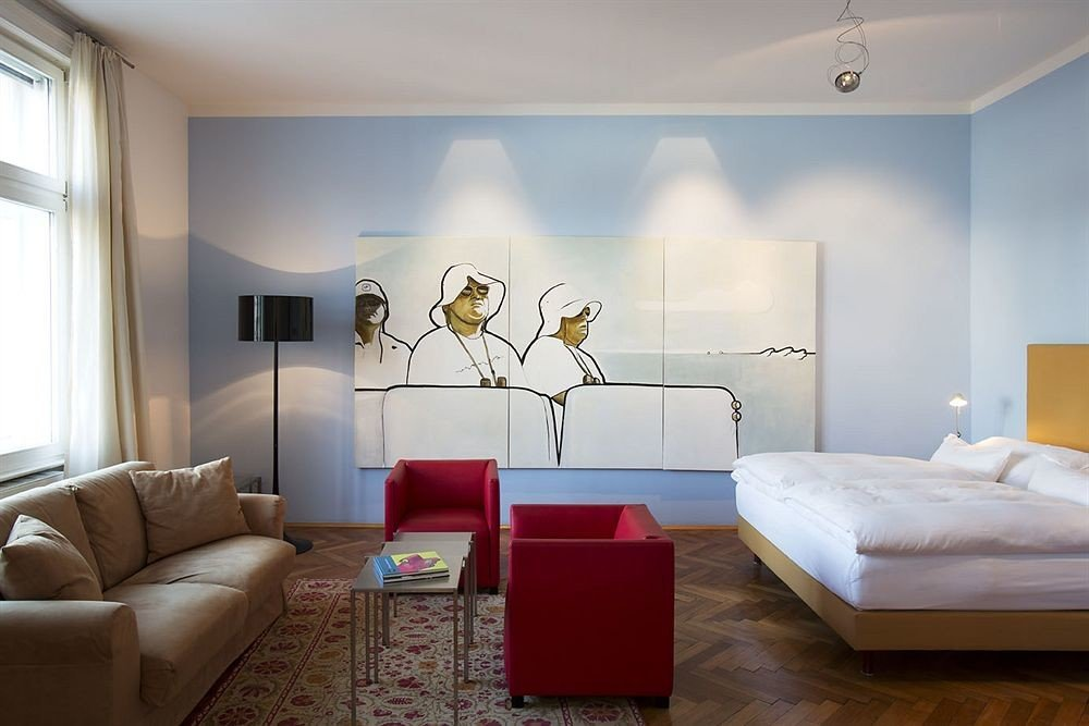 sofa property living room Bedroom scene Suite flat Modern