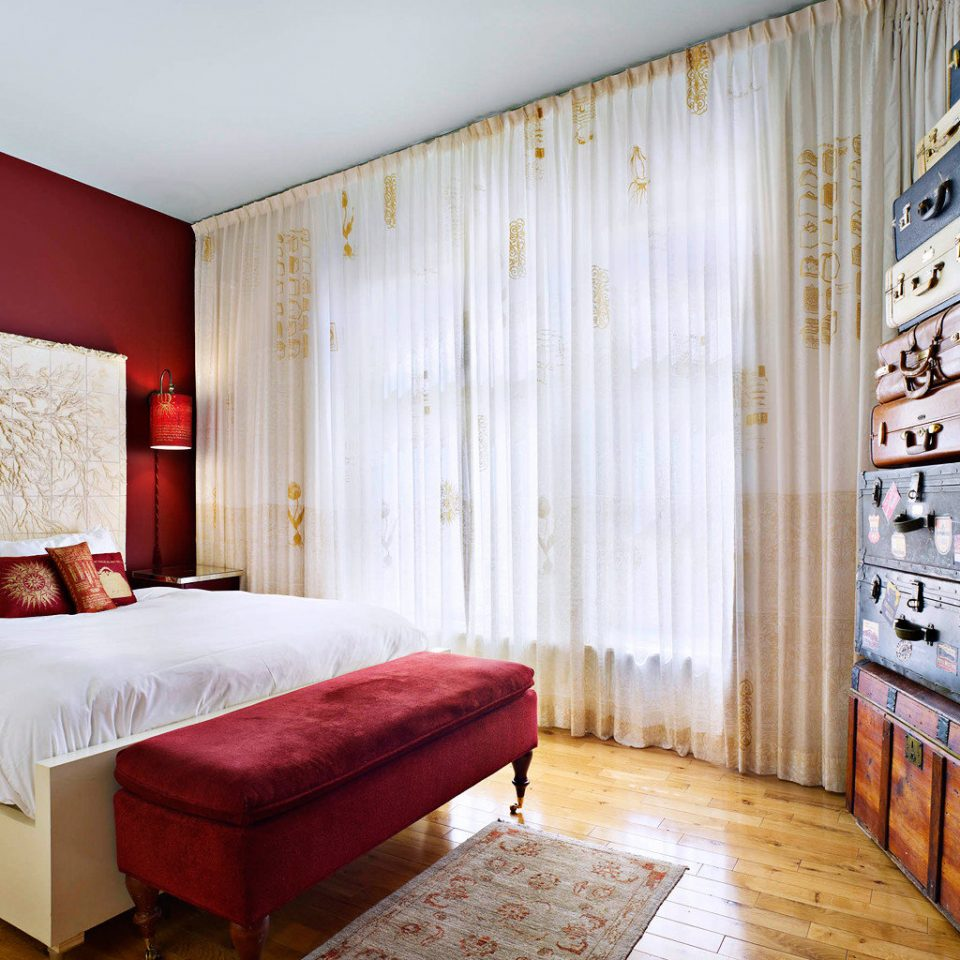 Bedroom Modern property red home living room Suite
