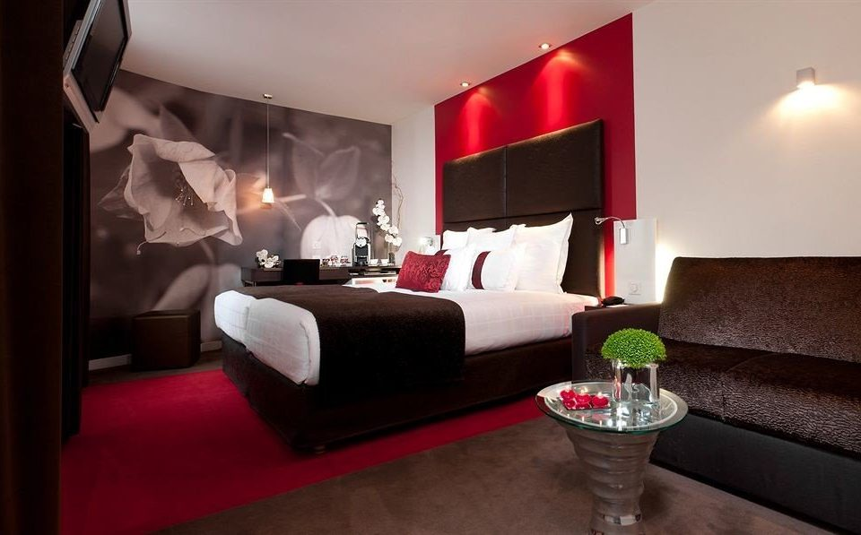 property Suite red living room lamp Bedroom Modern