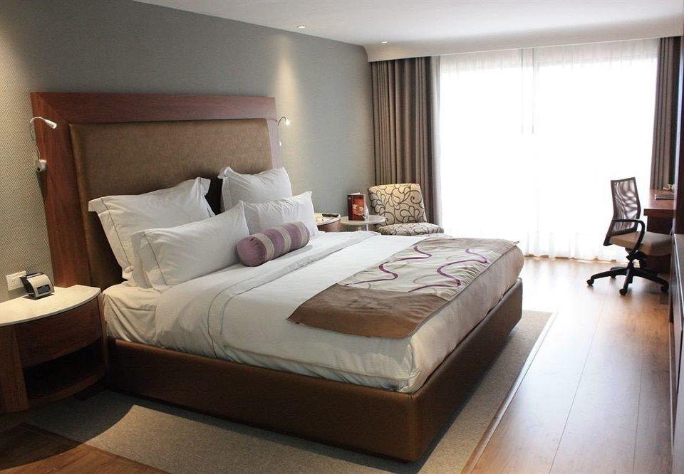 Bedroom Modern Tropical property Suite cottage bed frame bed sheet