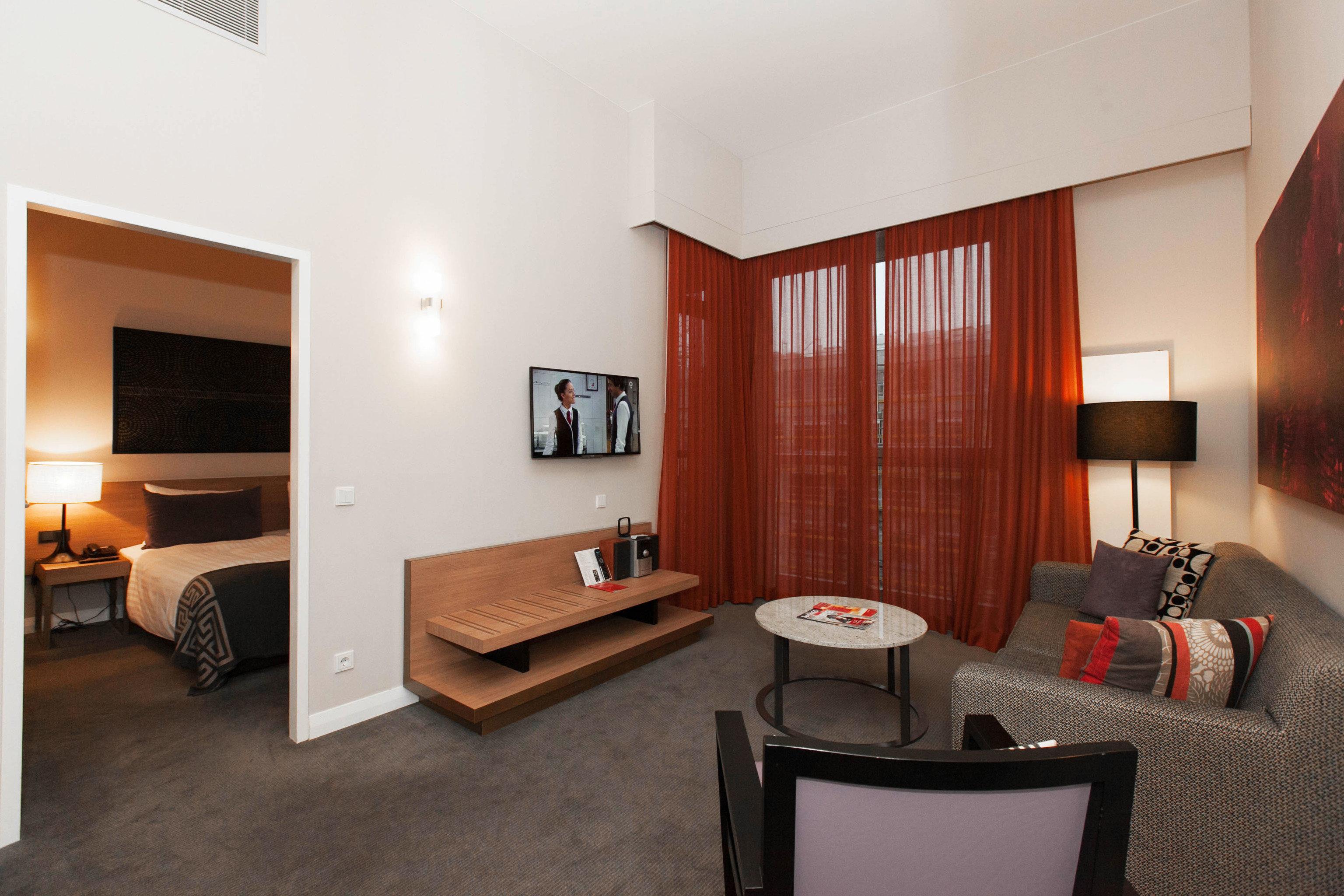 sofa property Suite living room home condominium cottage Villa Bedroom Modern