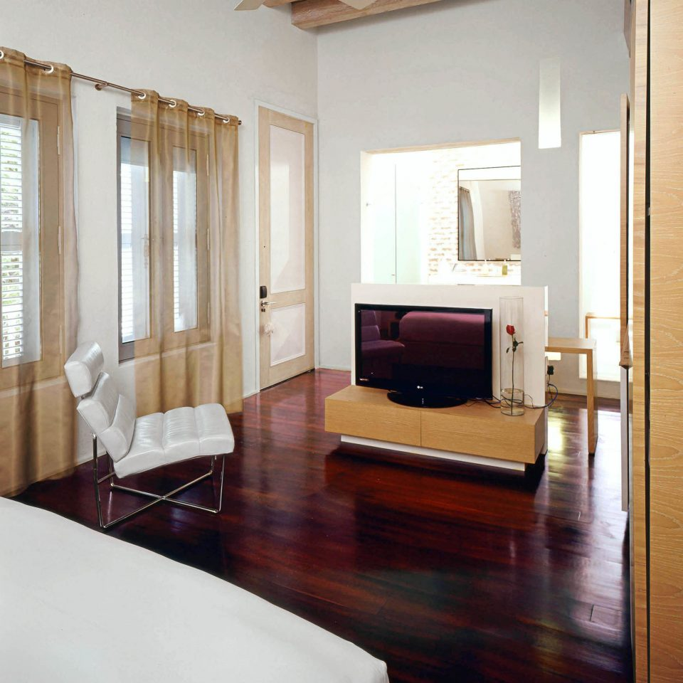 Bedroom Modern property living room hardwood Suite home cottage wood flooring Villa farmhouse