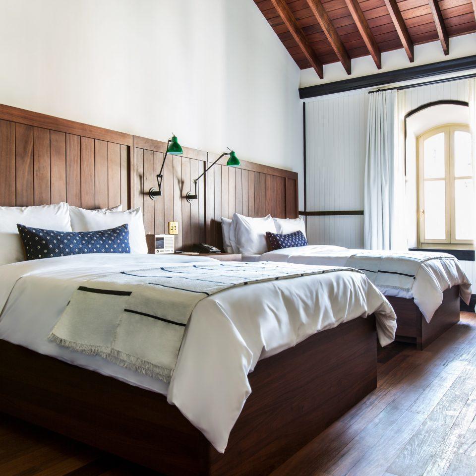 Bedroom Modern property Suite cottage bed sheet bed frame Villa