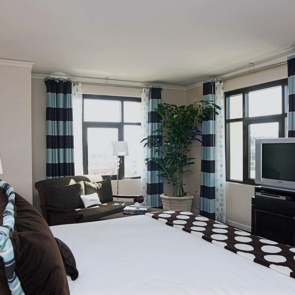 Bedroom Modern property living room home condominium cottage Villa loft mansion
