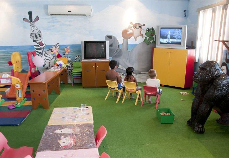 Play art kindergarten Bedroom cluttered