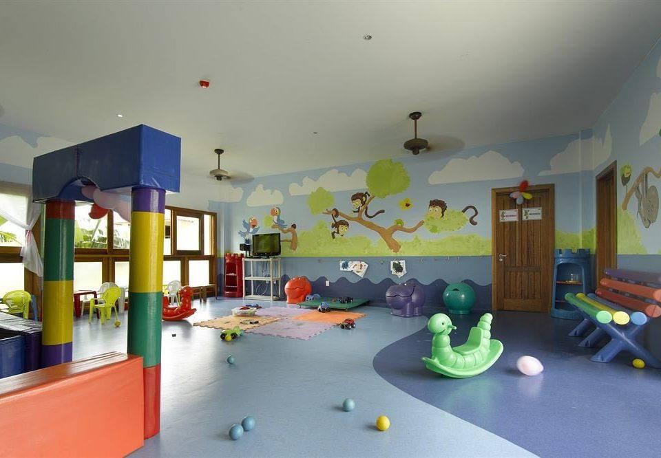 kindergarten Play mural toy screenshot classroom recreation room living room Bedroom cluttered