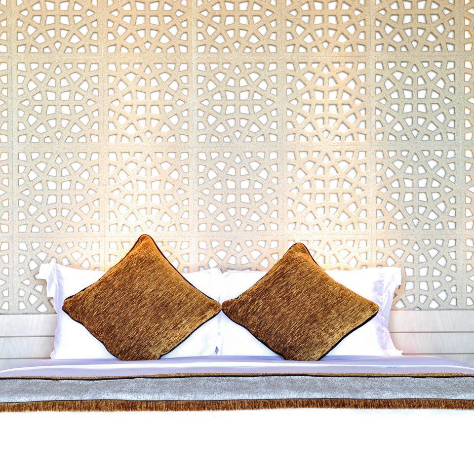 Bedroom Resort bed sheet textile pillow duvet cover material