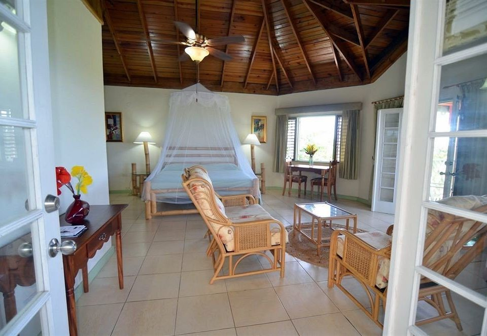 Bedroom Romantic Tropical property house building cottage home Villa farmhouse Resort