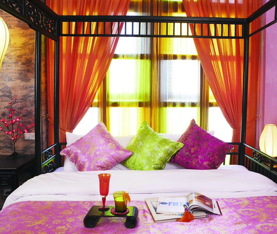 curtain Suite bed sheet Bedroom textile cottage Resort arranged