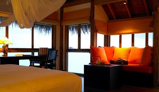 chair Suite Bedroom Resort yellow home boarding house boutique hotel
