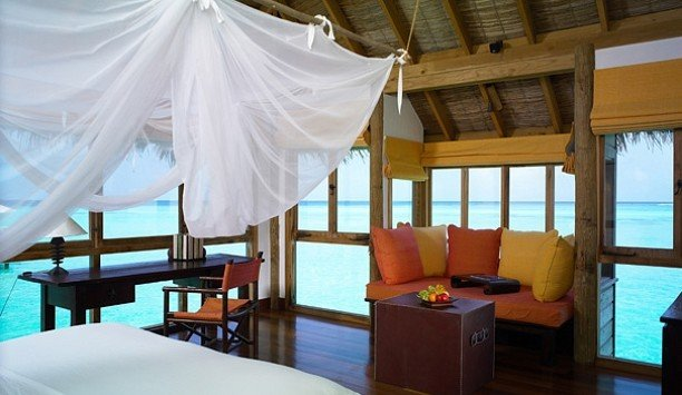 chair Resort mosquito net Suite Bedroom boutique hotel open