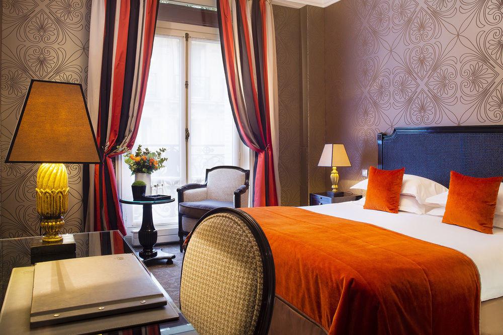 curtain chair Suite Bedroom cottage Resort orange lamp
