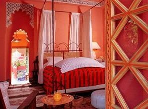 red chair cottage Suite Resort Bedroom