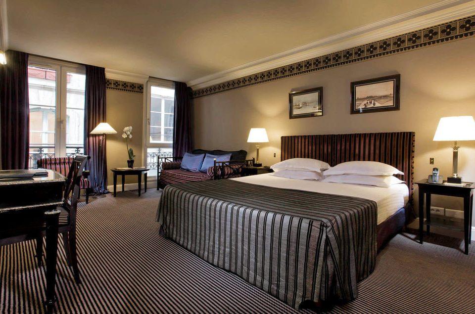 Bedroom property Suite scene double condominium cottage Resort living room lamp