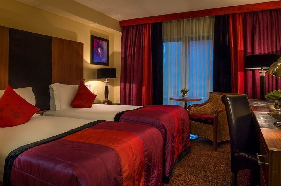 red curtain Suite Bedroom Resort cottage