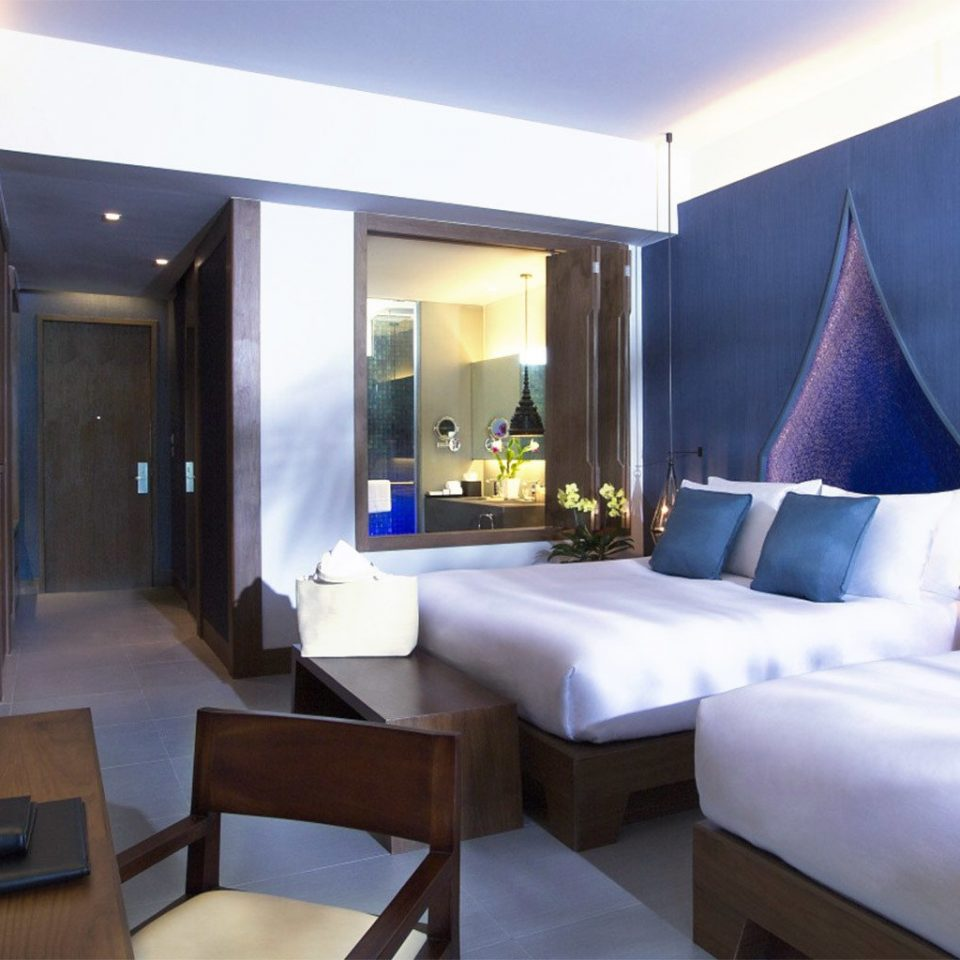 property Suite Resort Villa living room lamp Bedroom