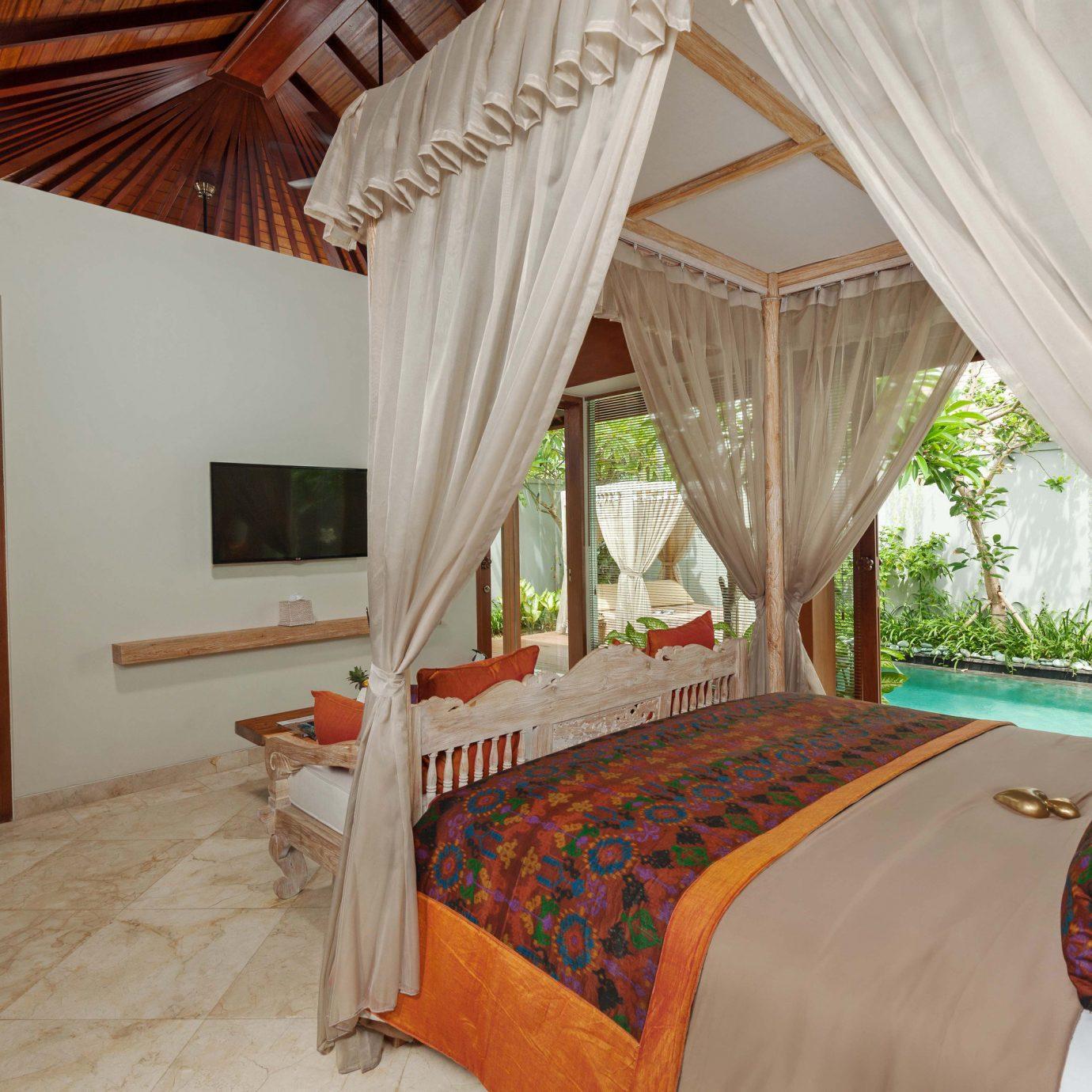 sofa property curtain Bedroom Resort cottage Villa Suite