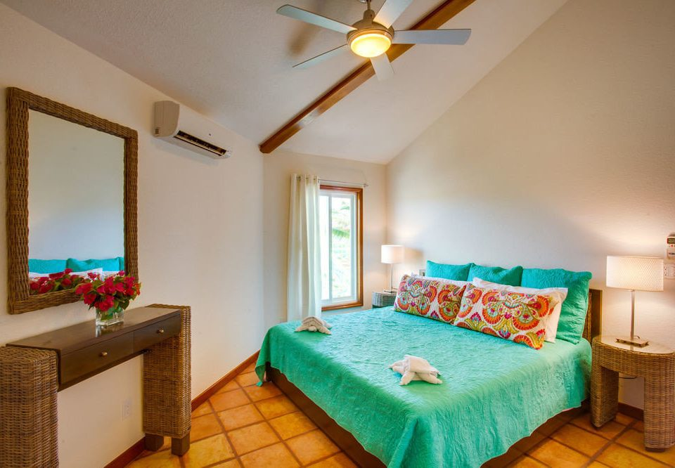property Bedroom green cottage Villa Suite Resort colorful lamp colored
