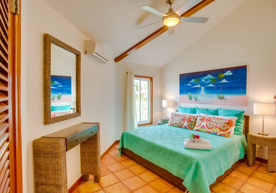 green property Bedroom Resort cottage Villa Suite painted colored