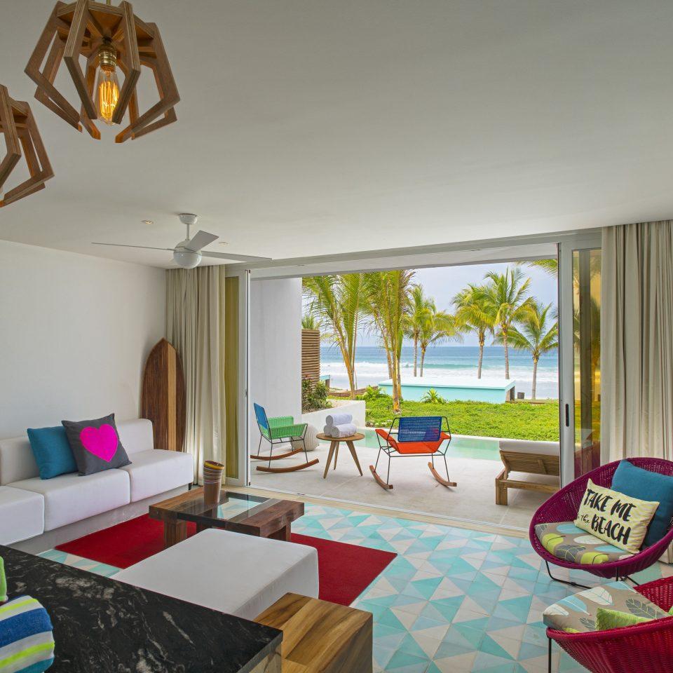 property living room house Villa home cottage Resort Bedroom Suite colorful