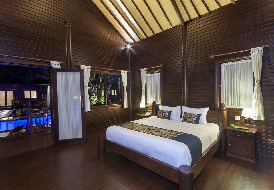 property house home Resort cottage Suite Villa Bedroom